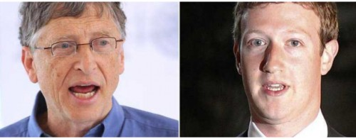 "Bill Gates contro Mark Zuckerberg:""Internet non salverà il mondo"""